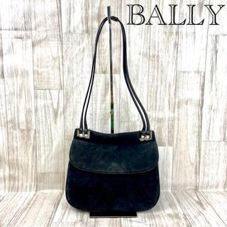 Bally - BALLY バリー スエードショルダーバッグ 10-24