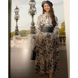EmiriaWiz - アンティークフラワーフレアスカート