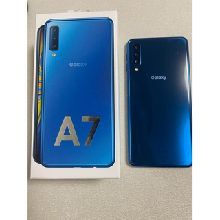 Galaxy - GALAXY A7 ブルー 64GB SIMフリー