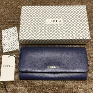 Furla - FURLA 長財布 ネイビー 新品 レディース 財布
