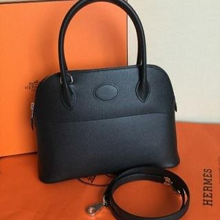 Hermes - エルメス  ボリード27 ブラック シルバー
