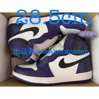 NIKE - nike jordan 1 court purple 28.5cm
