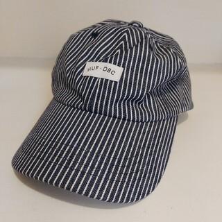 ハフ(HUF)のHUFキャップ帽子デニム、ストライプ、ヒッコリー(キャップ)