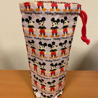 ミッキーマウス(ミッキーマウス)のディズニー ミッキー ペットボトルケース ハンドメイド(雑貨)