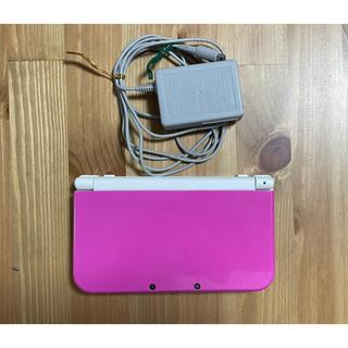 ニンテンドー3DS - new ニンテンドー3DS LL ピンク×ホワイト