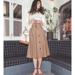 マイストラーダ(Mystrada)のマイストラーダ♡ベルト付トレンチスカート スエードスカート(ロングスカート)