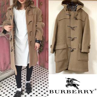 BURBERRY - 90's BURBERRY バーバリー ダッフルコート ノバチェック