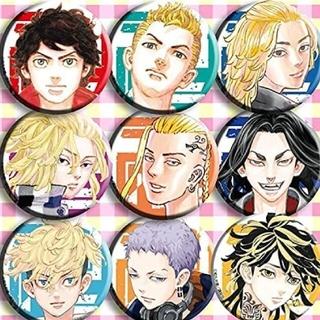 東京リベンジャーズ 缶バッジ9種類