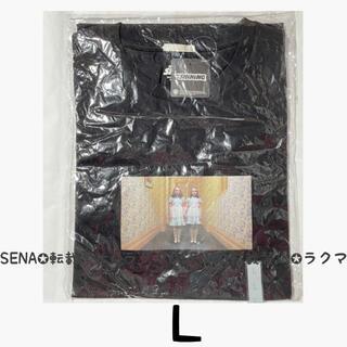GU - GU ジーユー 映画 シャイニング Tシャツ 双子 L