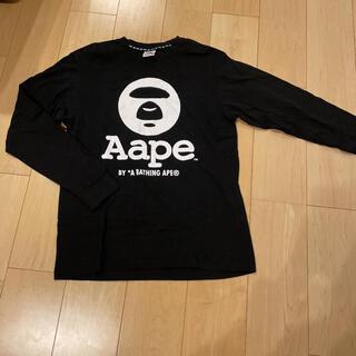 アベイシングエイプ(A BATHING APE)のアベイシングエイプ ロンT 長袖シャツ L(Tシャツ/カットソー(七分/長袖))