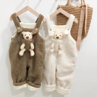 冬新作 女の子 男の子 パンツ サロペット 可愛い 子供服 キッズ服 おしゃれ