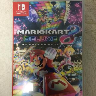 Nintendo Switch - 美品 switch マリオカート8 デラックス 値下げ不可