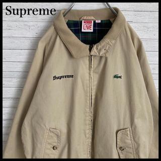 Supreme - 【即完売品】シュプリーム ラコステ★刺繍ロゴ ハリントンジャケット 17ss