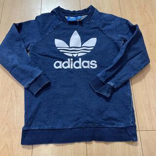 adidas - アディダストレーナー 藍色 5t