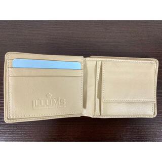 ILLUMS イルムス / 山羊革 二つ折り財布