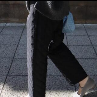 machatt マチャット キルティング パンツ 新品未使用タグ付き 先行発売