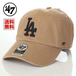 NEW ERA - 【新品】47 キャップ LA ドジャース 帽子 ベージュ レディース メンズ