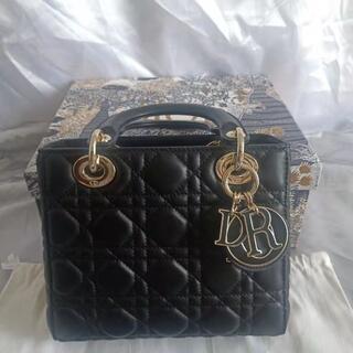 Christian Dior - LADY DIOR MY ABCDIOR バッグカナージュ ラムスキン