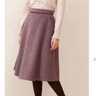 PROPORTION BODY DRESSING - チェックスカート  Sサイズ