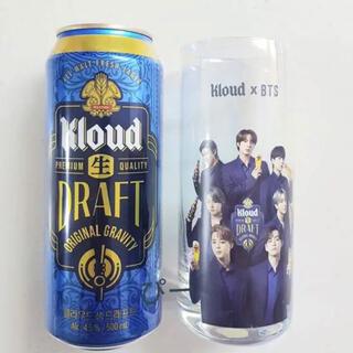 防弾少年団(BTS) - BTS×クラウド★ホログラムグラス+おまけに ビール缶☆