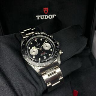 チュードル(Tudor)の新品未調整 チューダー TUDOR ブラックベイ クロノ 79360N(腕時計(アナログ))