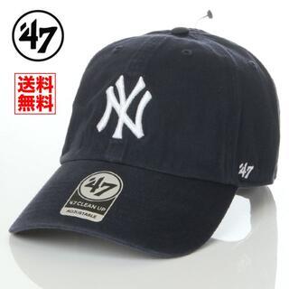 NEW ERA - 【新品】47 キャップ NY ヤンキース 帽子 紺 レディース メンズ