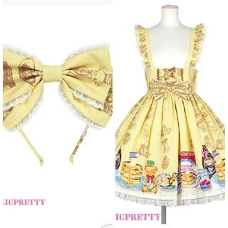 Angelic Pretty - Angelic Pretty Honey Cake スカート カチューシ