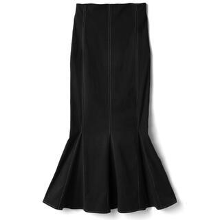 グレイル(GRL)の配色ステッチハイウエストマーメイドスカート(ロングスカート)