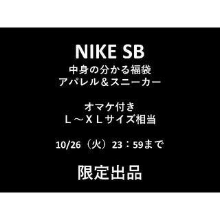 ナイキ(NIKE)のNIKE SB 新品タグ付のみ☆L~XL アパレル スニーカー&おまけ付 福袋(スニーカー)