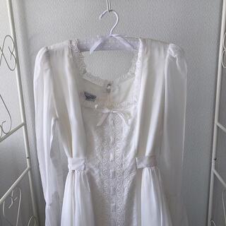アメリヴィンテージ(Ameri VINTAGE)のヴィンテージワンピースドレス(ロングドレス)