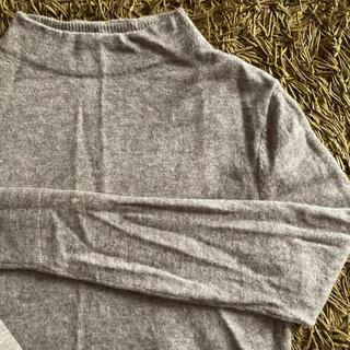 ムジルシリョウヒン(MUJI (無印良品))の無印良品 ヤク混ウールモックネックセーター(ニット/セーター)
