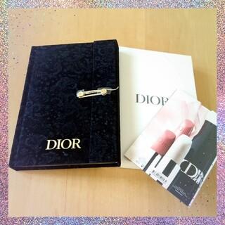ディオール(Dior)のDior 2021 ホリデーシーズン非売品限定ノート(ノベルティグッズ)