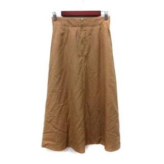 イエナスローブ(IENA SLOBE)のイエナ スローブ IENA SLOBE 18AW ウールチノジップスカート ベー(ロングスカート)