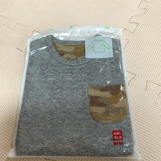 ユニクロ(UNIQLO)のユニクロ 長袖トップス 80サイズ(シャツ/カットソー)