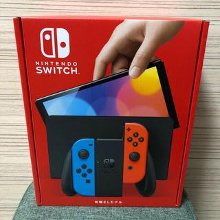 Nintendo Switch - Nintendo Switch  有機ELモデル(ネオンブルー/レッド)
