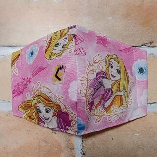 ディズニー(Disney)のラプンツェル(ぐ)立体マスク 幼児マスク 子供マスク ディズニープリンセス(外出用品)