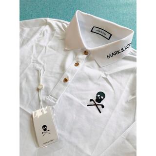 MARK&LONAマークアンドロナゴルフウェアメンズ長袖ポロシャツ