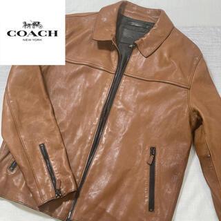 COACH - 正規店購入 COACH   レザージャケット