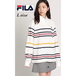 フィラ(FILA)のFILA別注ラガーシャツ(ポロシャツ)