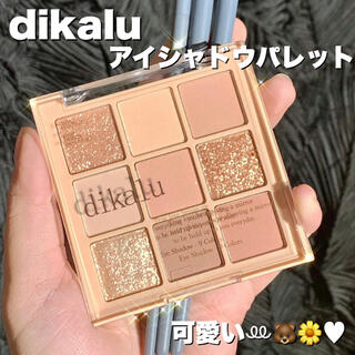 【dikalu】アイシャドウ パレット 9色 コンパクト 海外コスメ