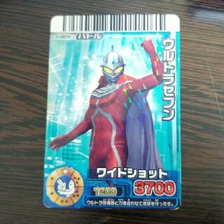 バンダイ(BANDAI)の大怪獣バトルRR ウルトラセブン 1-004 カード(その他)