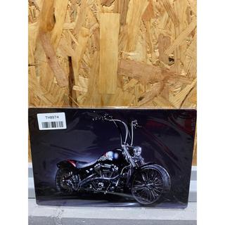 ブリキ看板 カンバン レトロ バイク ガレージやインテリアなどに  アメリカン(その他)