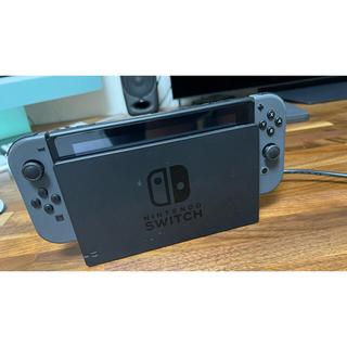 Nintendo Switch - Nintendo Switch 本体+保護シート+LANアダプタ