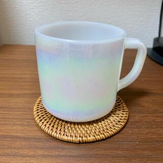 フェデラル オーロラマグ ミルクガラス