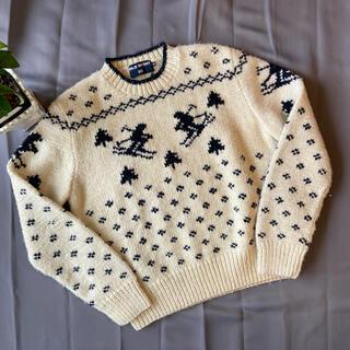 ラルフローレン(Ralph Lauren)のPolo Sport ニット セーター スキー ノルディック アメカジ(ニット/セーター)