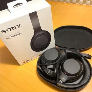 SONY - [値下げ] SONY ワイヤレスヘッドフォン WH-1000XM4