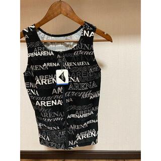 アリーナ(arena)の新品 未使用 タグ付き arena アリーナ ウェア 総柄 パット付き 高級品(水着)
