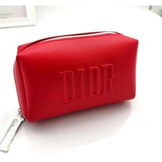 Christian Dior - ディオール ポーチ レッド 新品