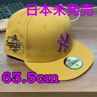 ニューエラー(NEW ERA)のNEW ERA 59FIFTY 日本未発売カスタムキャップ SIZE8 63.5(キャップ)
