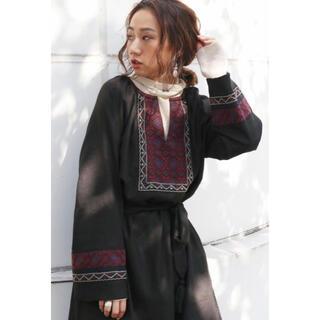 Ungrid - !美品!定価14300円!ungrid 刺繍ワンピース!